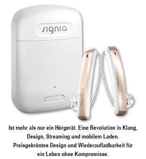 Signia Styletto Connect mit Charger