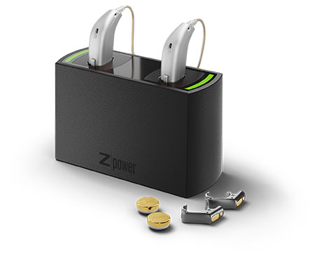 Zacho Oticon ZPower Ladestation